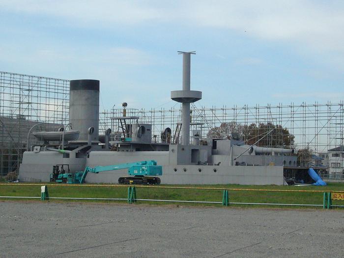マニア必見!「坂の上の雲」軍艦三笠のロケセットはこうなっていた!