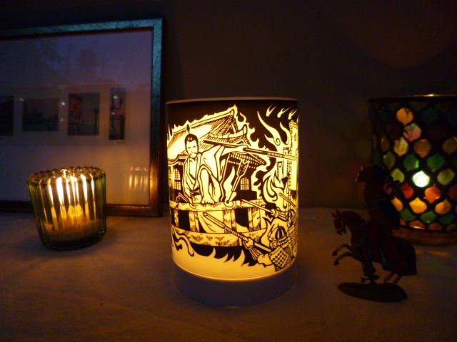 【COOL!】あるよ、本能寺の変デザインランプ