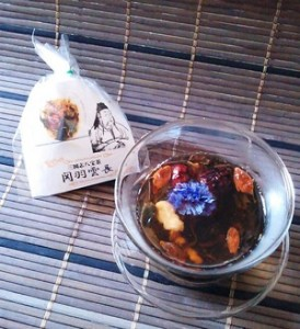 三国志八宝茶「関羽雲長」
