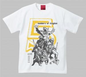 赤兎馬 五虎大将軍Tシャツ。