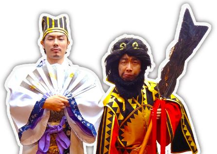 【三国志フェス情報その2】「歴人マガジン」ブースに「初代笑帝」降臨!?
