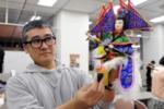 布袋人形劇団「著微(ちょび)」代表チャン・チンホイさん。
