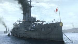 日露戦争時の連合艦隊旗艦 三笠