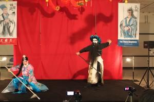 新潮劇院の見事な京劇。