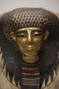《王妃のマスク》(部分) 新王国・第18王朝時代(前1550~前1292年頃)マンチェスター博物館蔵