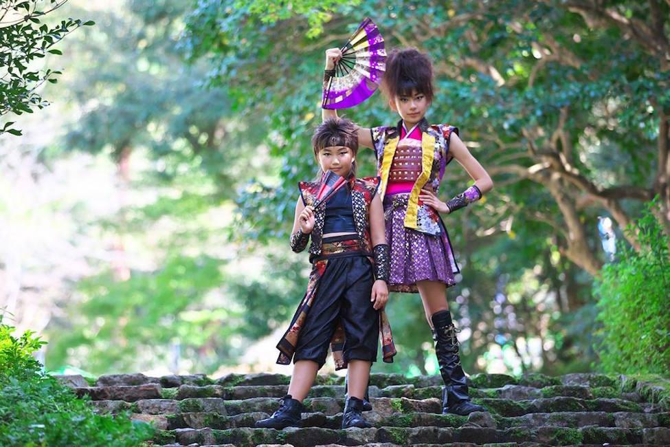 【キュートすぎ】 各地に出没する2人組の戦国ダンスユニット「神桜舞-shinobi-」知ってる?(動画あり)