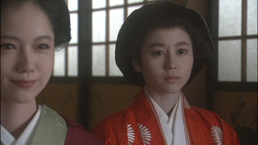 堀北真希さんは和宮。宮崎さんとの嫁姑対決。