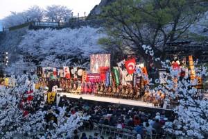 【銀座で夜桜!?】3日間限定の和イベント「夜酔い」の美しさ