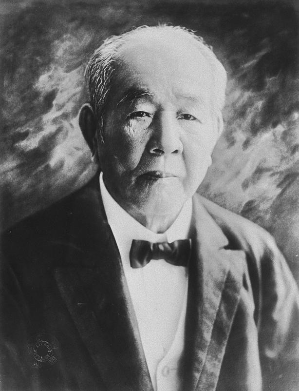【渋沢栄一(しぶさわ えいいち)。1840~1931年】