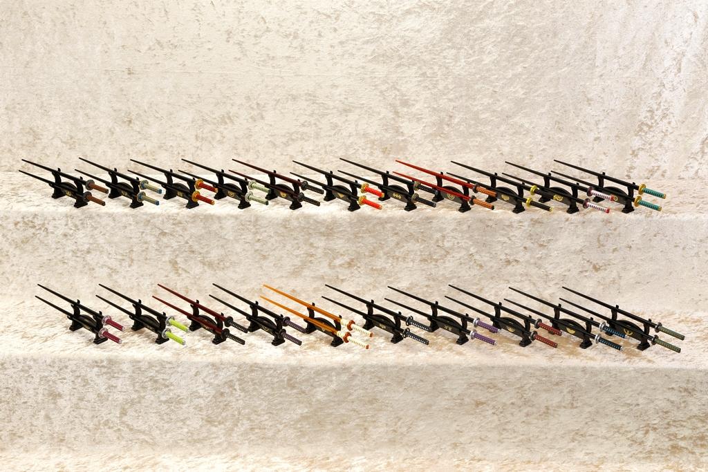 【人気の日本刀がぞくぞく追加!】コトブキヤ「侍箸」充実のバリエーション!