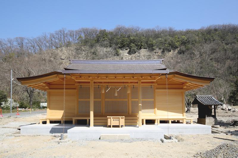 【4/29 応援したい】放火で焼失した歴史ある神社の拝殿竣工祭!