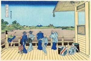五百らりん寺さざねどう。富士山カワイイ。