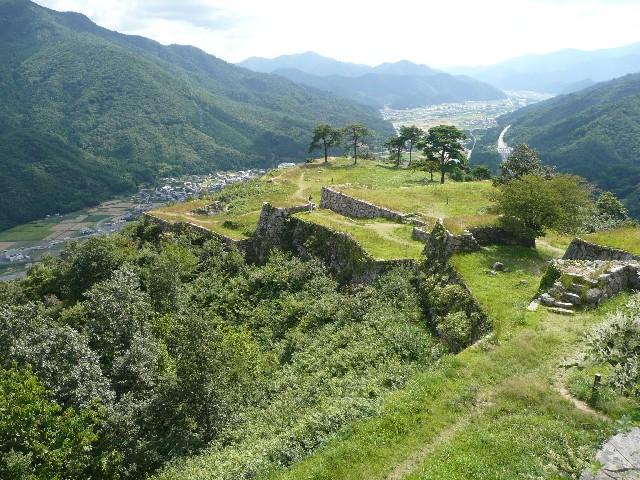 日本のマチュピチュと呼ばれる竹田城。