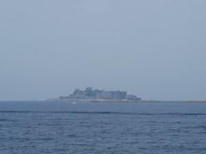 【軍艦島①】 いよいよ「軍艦島(端島)が見えてきました!