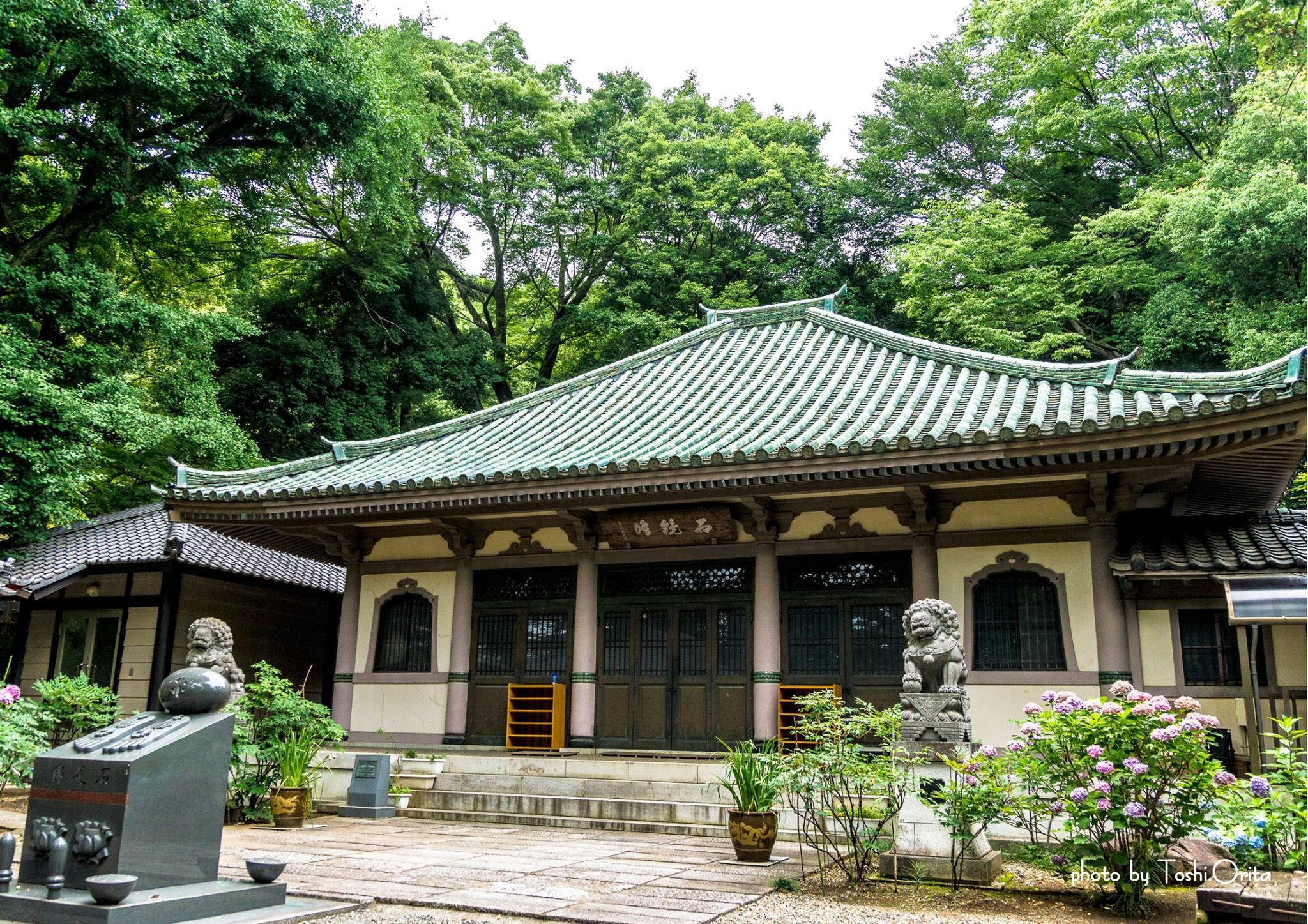 西宮長林寺本堂(国登録有形文化財)