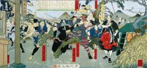 生麦事件(早川松山画)wikipedia