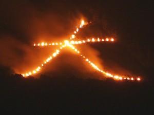京都 大文字焼きは8月16日の送り火。