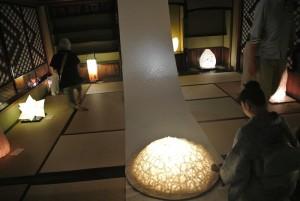 明治から昭和の画家 鏑木清方の部屋の展示。