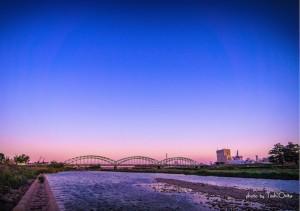 中橋。美しい。。