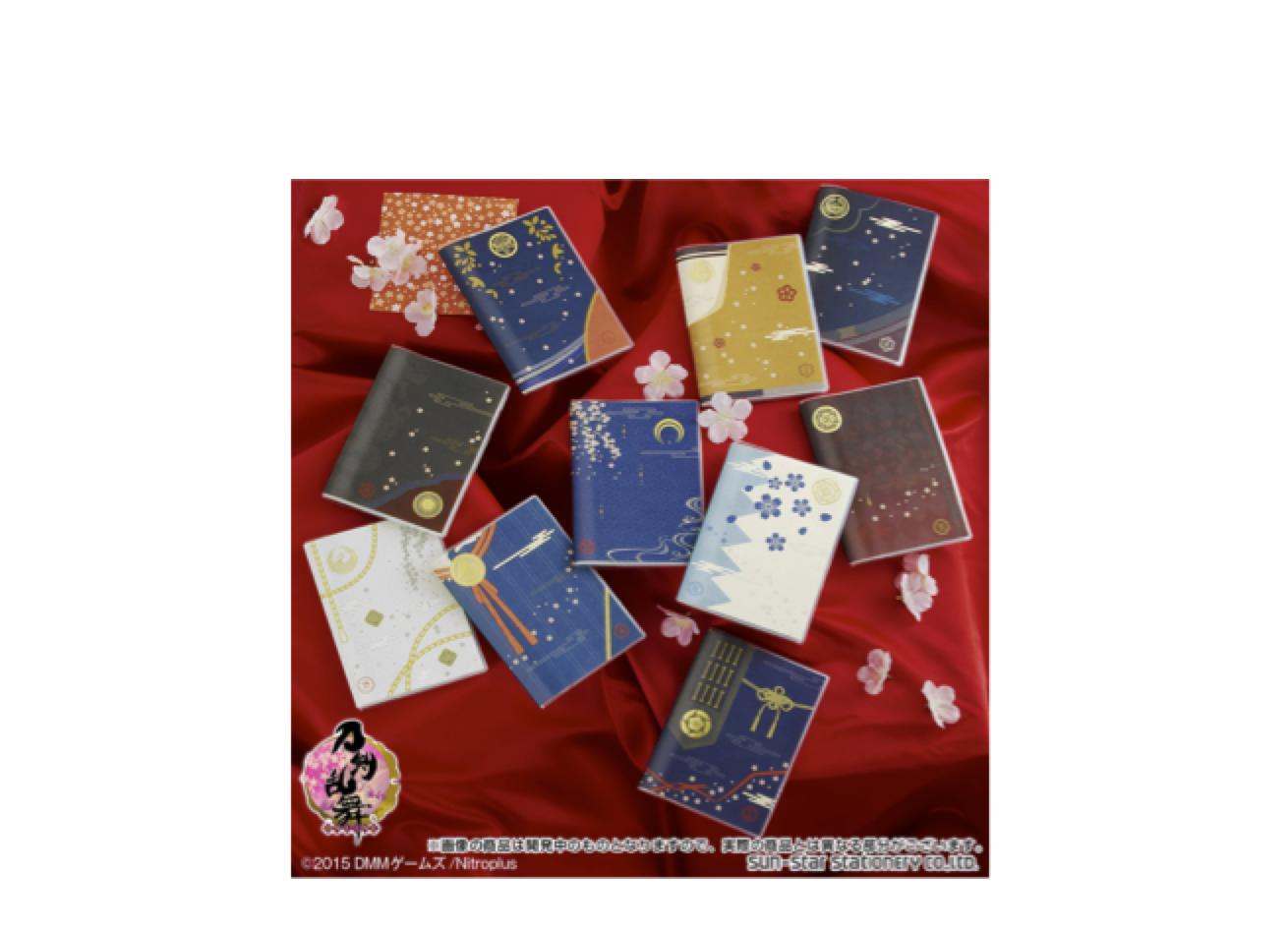 【とうらぶファン垂涎!】「刀剣乱舞-ONLINE-」の「2016年 手帳」が限定販売で登場!!