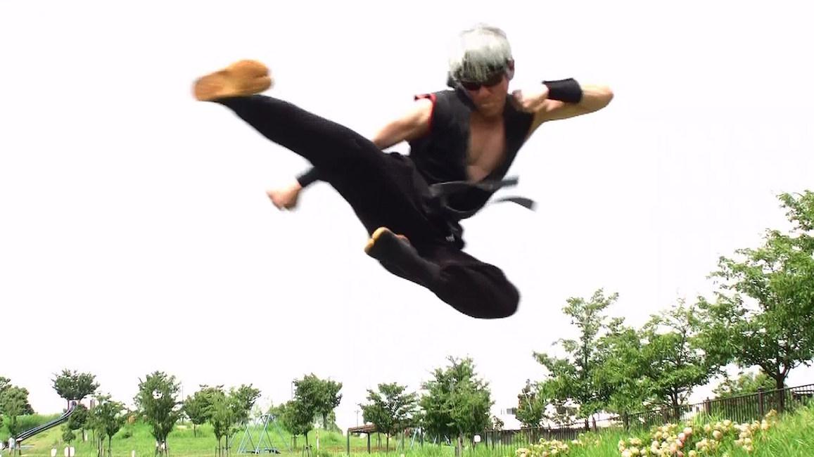 【 驚異の肉体美 】マジか!? ハリウッドに推薦したいアクション忍者スターが奈良にいた!