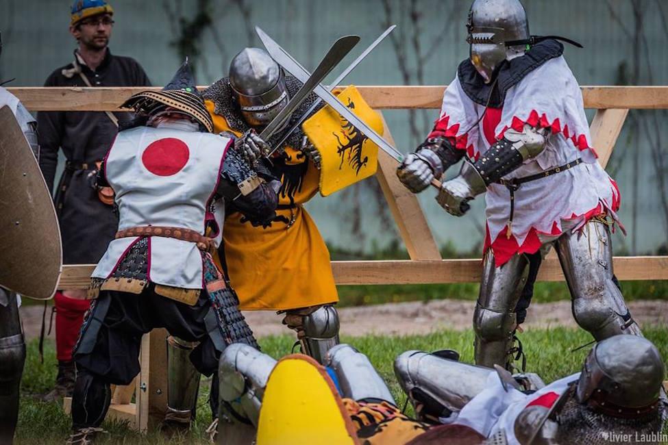 【 日豪対決 】「甲冑格闘技」アーマードバトル初の国際試合開催!体験コーナーも!