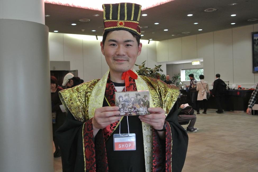 三国志カードゲームの「サンゴク」さんをプロデュースするリトルフューチャーさん。