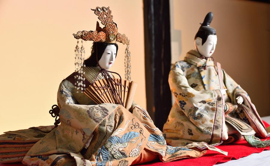 会津若松城下に伝わる古今雛(福島)