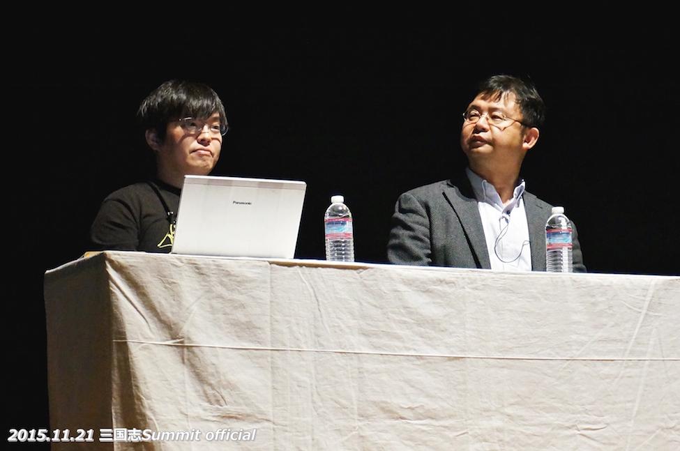 2ndサミット。USHISUKEさんと加藤徹先生。