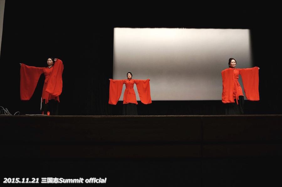 漢服会の演舞。美しい!