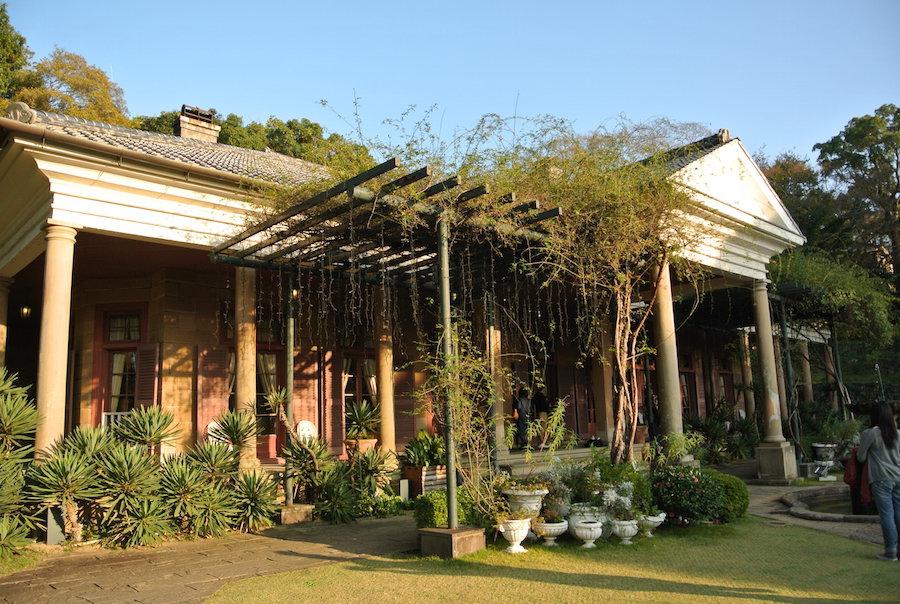 園のなかで最大のオルト邸。