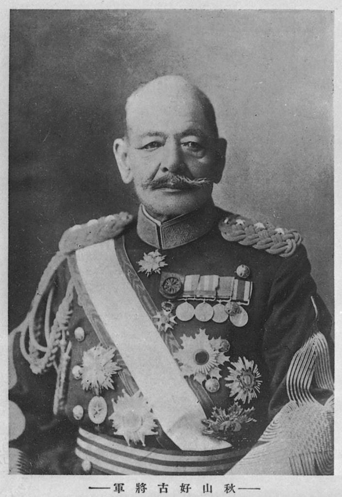 秋山好古。日本騎兵の父と言われた。