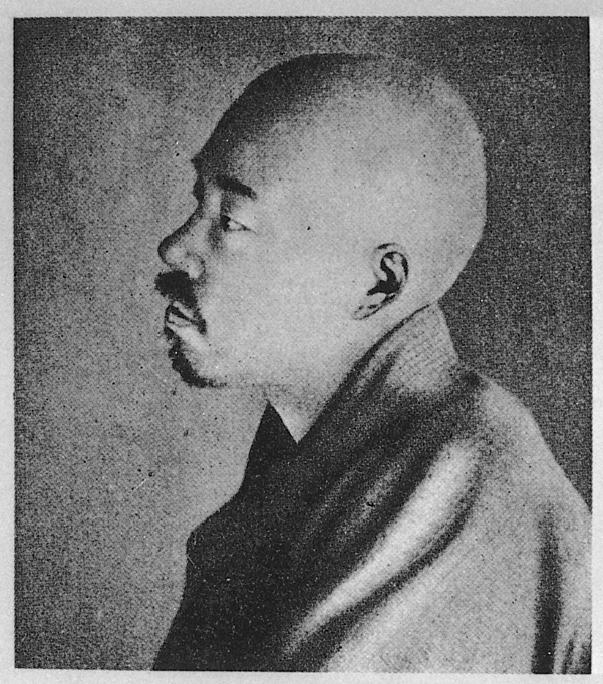 正岡子規。日本の近代文学に大きな影響を与えた。