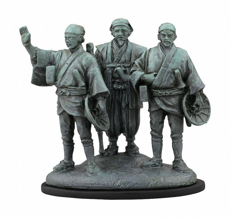 もちろん歴史モノもしっかり押さえてる!水戸黄門でお馴染みの三人組。