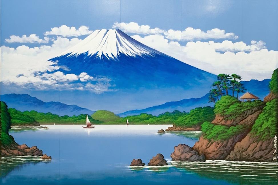 【 もはや文化遺産 】「銭湯富士」を描く伝説の絵師 丸山清人氏の個展が中野で開催!