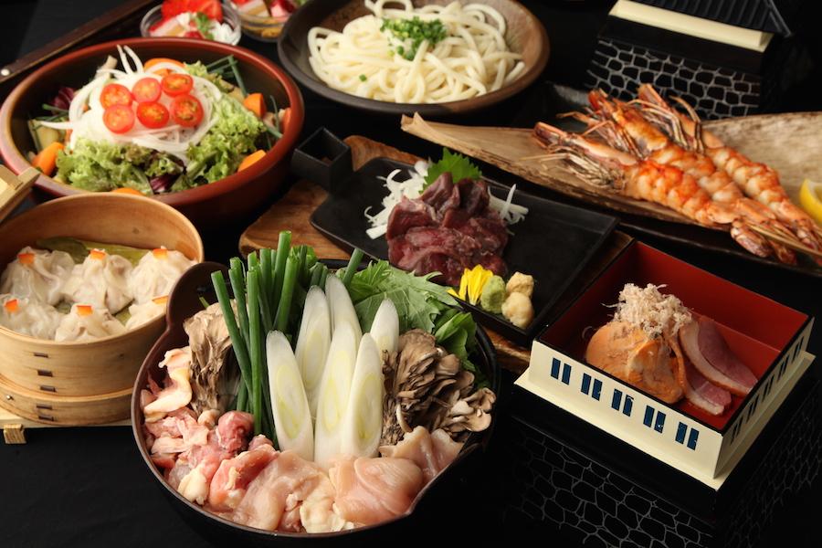 前菜から甘味まで、すべて幸村をイメージした「日本一の兵!真田幸村コース」