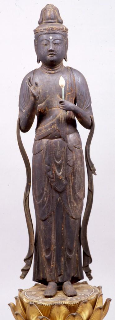 聖観音立像(竹生島宝厳寺蔵)