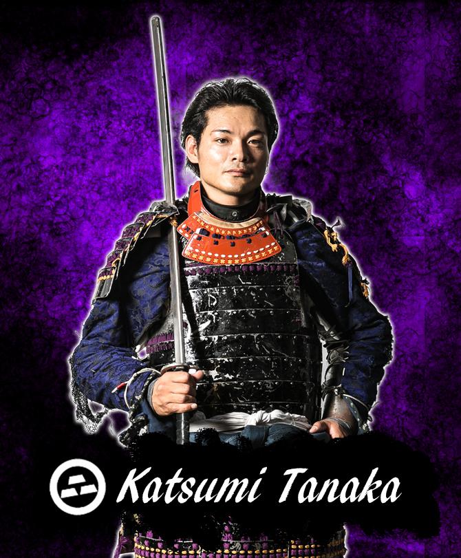日本の古武術を活かして戦う「黒鋼衆」頭領田中選手。カッケー!