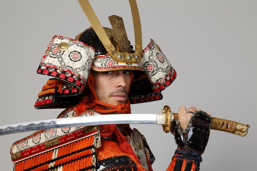 こちらもファンの多い鎌倉時代の「大鎧」。