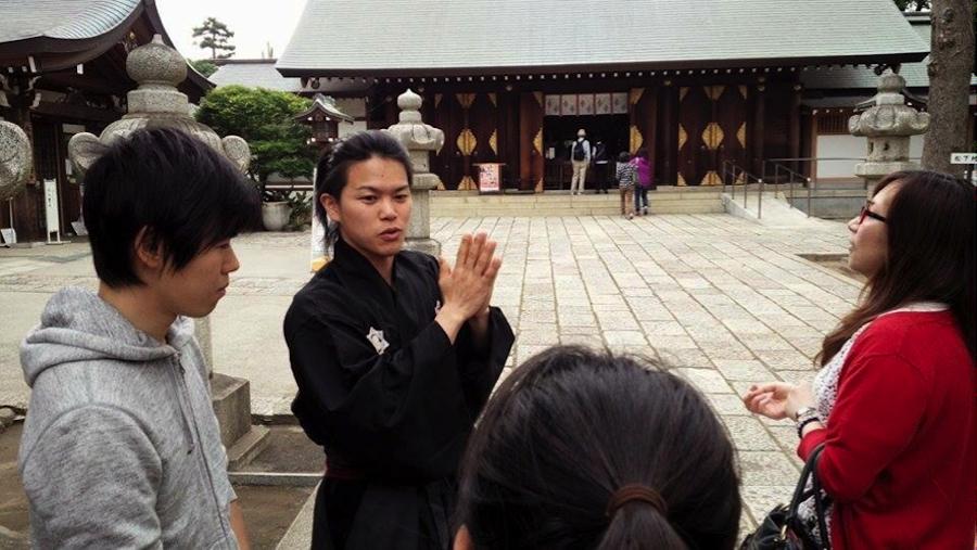 東京の松陰神社ではRYO下村塾(りょうかそんじゅく)〜を主宰!