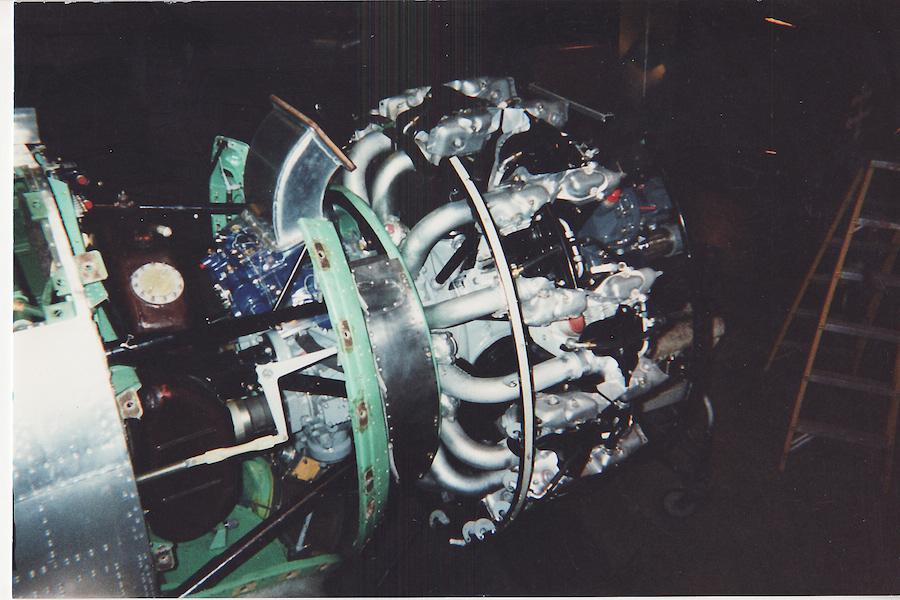 ボロボロの状態から完全復活したエンジン。