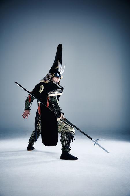 肥後熊本藩主 猛将 加藤清正公。こちらもキマってます!