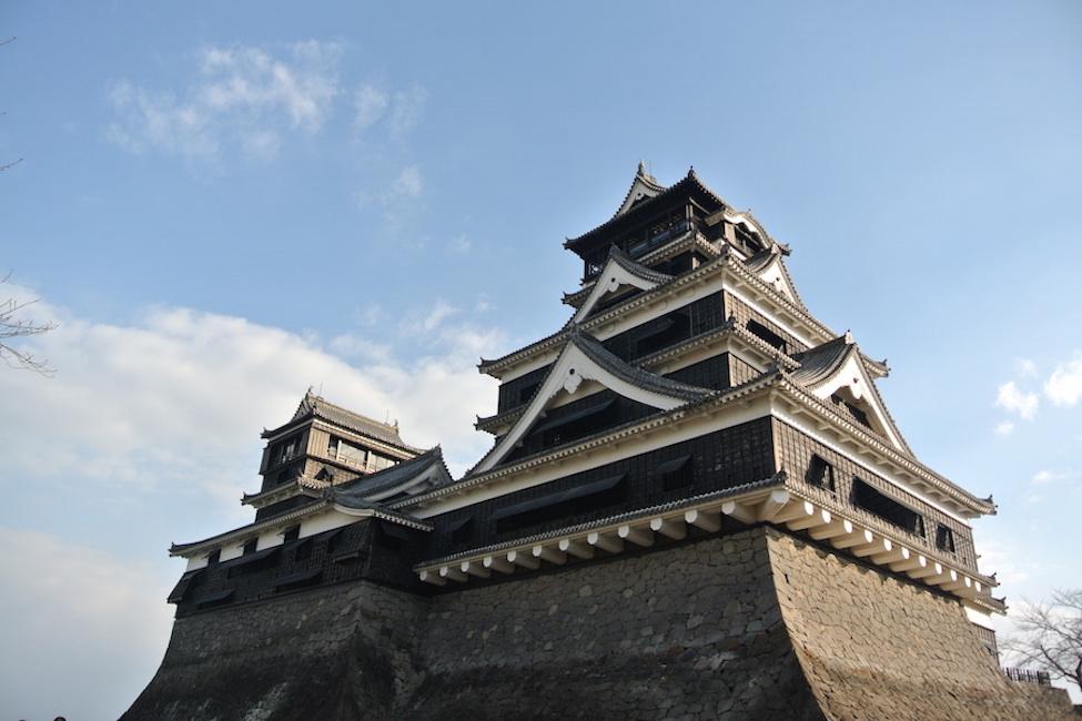 大地震からの復活を期す熊本城