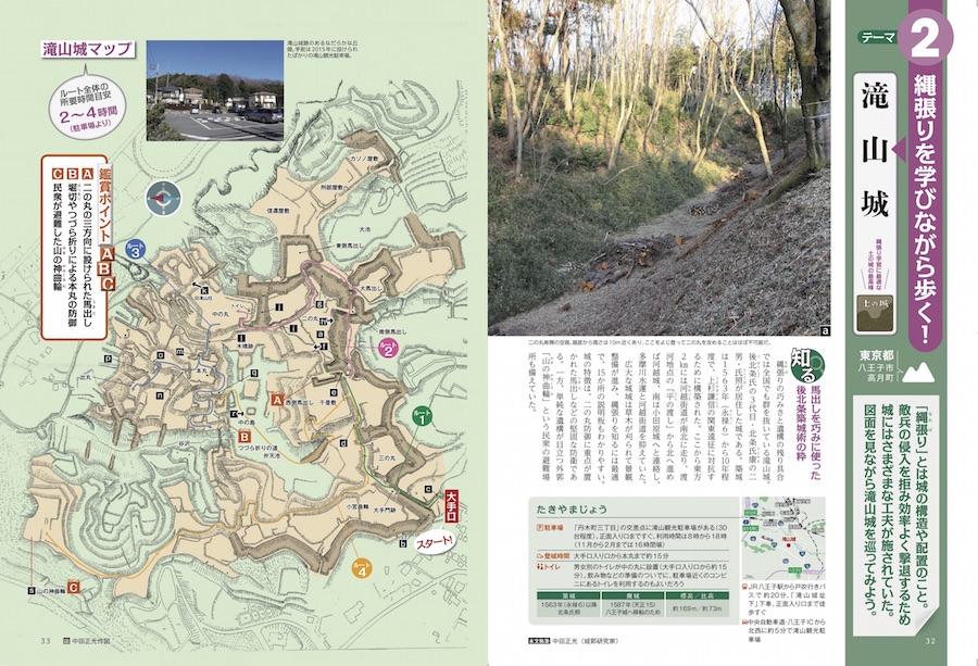 山城講座を学んだあとはいよいよ現地へ!写真と縄張り図で城がよみがえる!