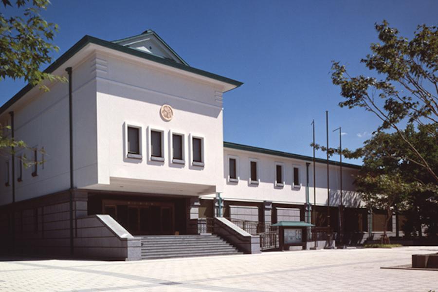 有形文化財に指定の建物。