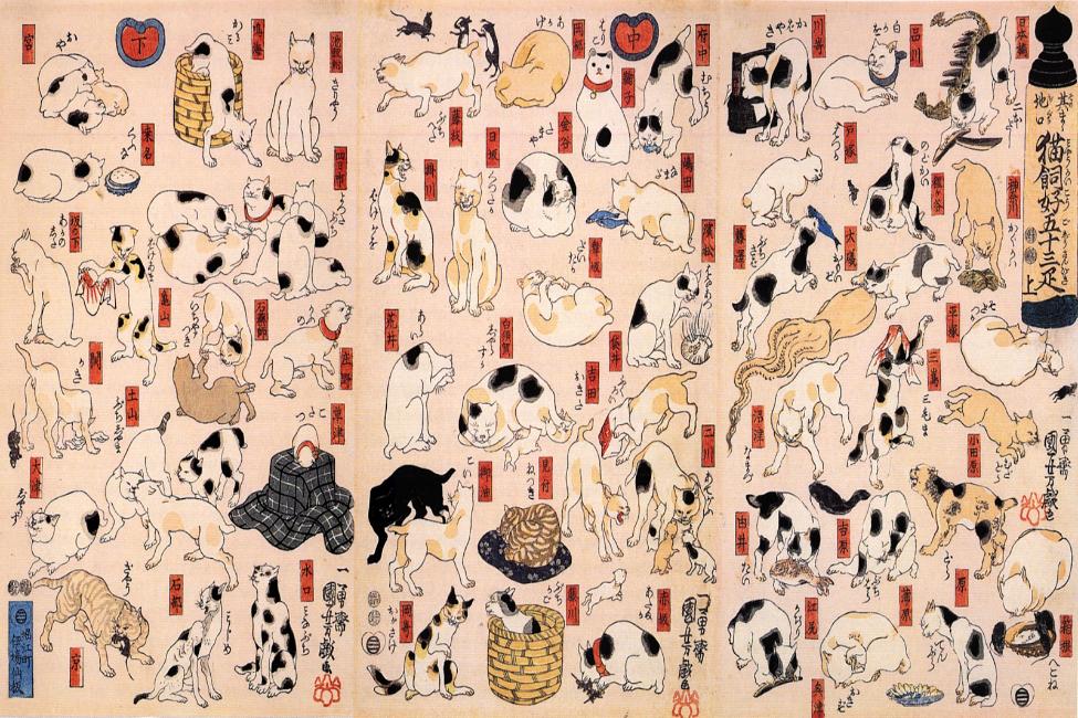 【 日本最古の猫ブロガーは? 】 やっぱり猫が好き!な歴史上の偉人達
