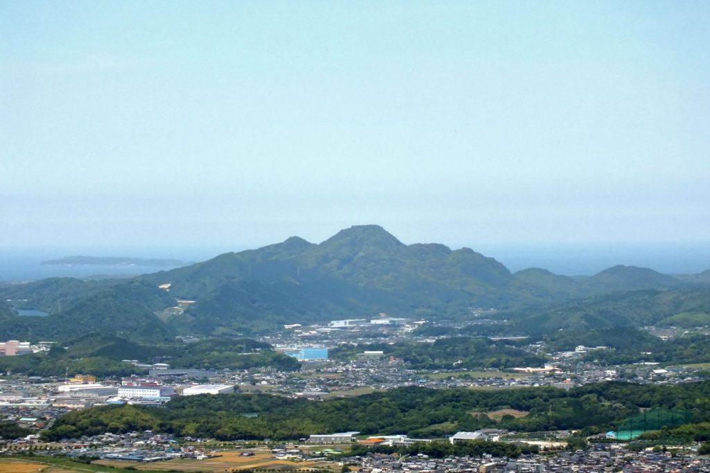 立花山城全景