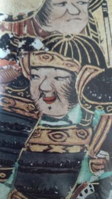 「大坂夏の陣図屏風」に描かれた大野治長