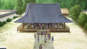 蓮如上人の法話を聞きに参拝者が本願寺に続々と集まるが・・・