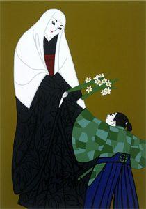 「直虎(次郎法師)の絵。どう見ても女性です」
